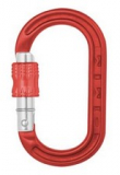 DMM - Materialkarabiner XSRE Lock Mini Carabiner, 4kN, red
