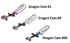 DMM - Dragon Cam Set version 2, Size 00 + 0 + 1