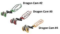 DMM - Dragon Cam Set version 2, Size 2 + 3 + 4