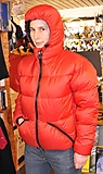 Feathered Friends - Hooded Helios Jacket, Epic, red, Gr. M