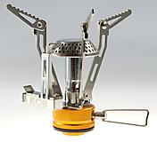 EOE - Gaskocher Strontium, 2.900 Watt, 115g, poliert/orange