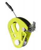 Edelrid - Seilklemme / Umlenkrolle mit Rücklaufsperre Spoc, 7-11mm, 60g, oasis