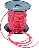 Edelrid - Wurfleine, 2,2mm, rot/weiß, Meterpreis