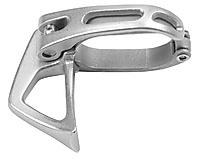 Edelrid - Eisgerätezubehör Leash Clamp, silver