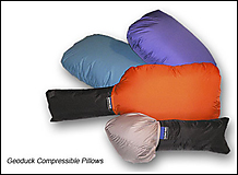 Feathered Friends - Kissen Geoduck Pillow Compressible, assorted colour