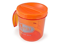 GSI Outdoors - Copolyester Tasse FairShare, 1,0 L, orange