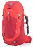 Gregory - Kinder/Jugend Trekkingrucksack Wander 50, fiery red, one size