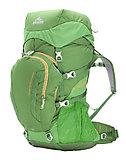 Gregory - Kinder Trekkingrucksack Wander 50, chlorophyll green, one size