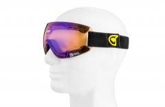 Grivel - Eiskletterbrille Ice Goggle, Kat. 3 Lens, schwarz/transparent