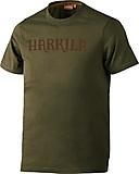 Härkila - Logo T-Shirt, dark olive, Gr. L