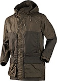 Härkila - Mountain Trek Long Jacke, hunting green/shadow brown, Gr. 50