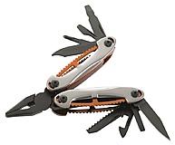 Herbertz - Multitool AISI 420 Stahl, beschichtet mit 10 Funktionen & Etui