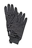 Hestra - Merino Wool Active Liner, charcoal, Gr. 8