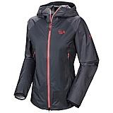 Mountain Hardwear - Hyaction Hardshell Lady Jacket, graphite, Gr. M