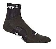 Inov-8 - Socke Racesoc Mid, 2er Pack, grey/black, Gr. S (35,5 - 39,5)