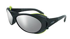 Julbo - Gletscherbrille Explorer, Spectron 4, matt-schwarz/grün