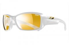 Julbo - Outdoorbrille Whoops, Zebra, weiß glänzend