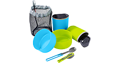 MSR - Campinggeschirr für 2 Personen Trail Light Duo Mess Kit, blue/green