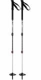 MSR - Tourenstöcke Poles DynaLock Explore Alu 100-140cm, 3-teilig, black/red