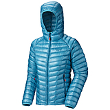 Mountain Hardwear - Daunenjacke Ghost Whisperer Hooded Lady, geyser, Gr. XS