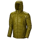 Mountain Hardwear - Daunenjacke Ghost Whisperer Hooded, python green, Gr. XL