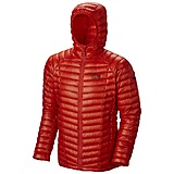 Mountain Hardwear - Daunenjacke Ghost Whisperer Hooded, cote du rhone, Gr. M