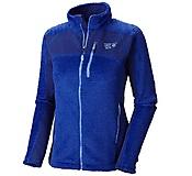 Mountain Hardwear - Hoodless Monkey Grid Woman Jacket, nectar blue, Gr. M