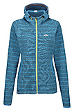 Mountain Equipment - Dark Days Hooded Women Jacket, enamel stripe, Gr. 14 (L)