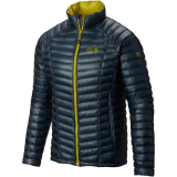 Mountain Hardwear - Daunenjacke Ghost Whisperer, mountain/ginkgo, Gr. M