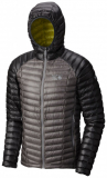 Mountain Hardwear - Daunenjacke Ghost Whisperer Hooded, manta grey, Gr. L