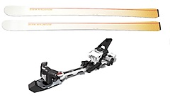 Mountain Wave - 2er Skiset Push + Hagan Bindung Z02