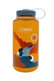 Nalgene - Weithalsflasche Everyday, Loop-Top, 1L, retro clementine