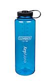 Nalgene - Weithalsflasche Everyday Silo, Loop-Top, 1,5L, blau