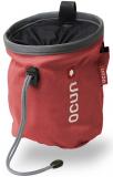 Ocun - Chalk bag Push, red/grey