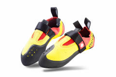 Ocun - Kletterschuh Rival Junior, yellow/red, Gr. UK 2,0