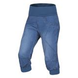 Ocun - Klettercapri Noya Shorts Jeans Women, middle blue denim, Gr. L