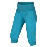 Ocun - Klettercapri Noya Shorts Women, lake blue/yellow, Gr. M