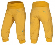Ocun - Klettercapri Noya Shorts Women, yellow/blue, Gr. M
