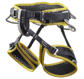 Ocun - Klettergurt WeBee Quattro, yellow/black, Gr. XS-M