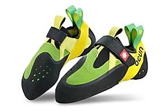 Ocun - Kletterschuh Oxi Slipper, green/yellow, Gr. UK 10,0