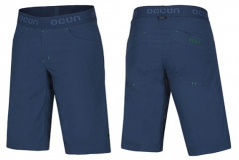 Ocun - Kletterhose Mánia Shorts, navy/green, Gr. L