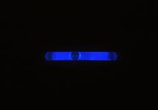 Omniglow - Leuchtstab Micro Night Lights, 3,9cm, blau