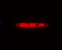 Omniglow - Leuchtstab Micro Night Lights, 3,9cm, rot