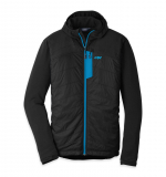 Outdoor Research - Men Deviator Hoody, Polartec Alpha, black/tahoe, Gr. XL