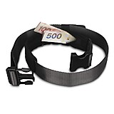 Pacsafe - CashSafe 25 Secure Deluxe Travel Belt Wallet, black