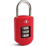 Pacsafe - ProSafe 1000 Secure TSA Lock with Indicator, red