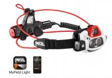 Petzl - Stirnlampe Nao+, 2LED + Sensor, 750 Lumens, white/black
