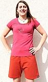 Prana - Venus Lady Lycra Short, red, Gr. M