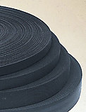 National Molding - Polyester Band, schwarz, 20mm, Preis pro Meter