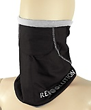 Rewoolution - Necwar Neck Warmer, black/pearl, one size